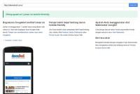 Cek Website Mobile Friendly