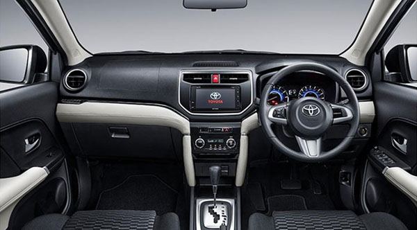 Interior Toyota Rush