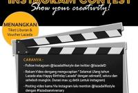 Kontes Lazada Indonesia