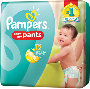 pampers baby dry tipe celana