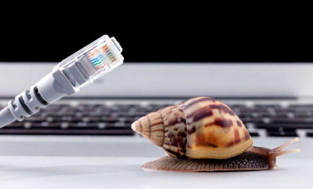 penyebab internet lemot