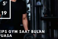 tips gym saat puasa