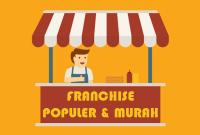 usaha franchise populer sedikit modal